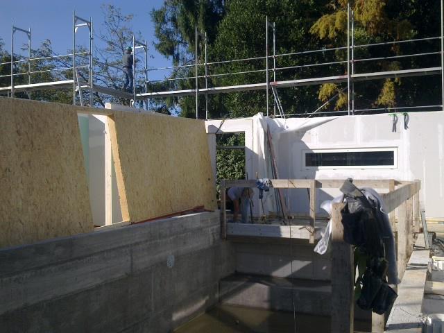 Fasi di montaggio di una casa in legno multiplo studio - Fasi di costruzione di una casa ...
